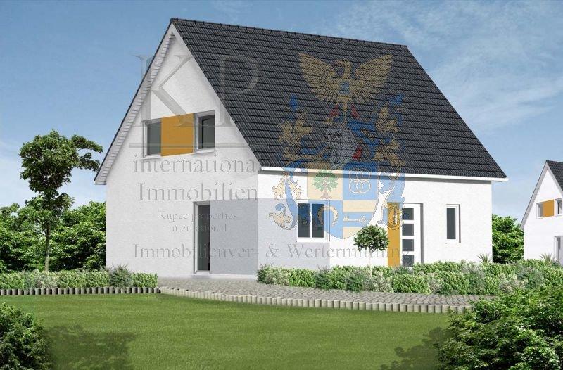 einfamilienhaus grundriss dachgeschoss mit satteldach giebel. Black Bedroom Furniture Sets. Home Design Ideas