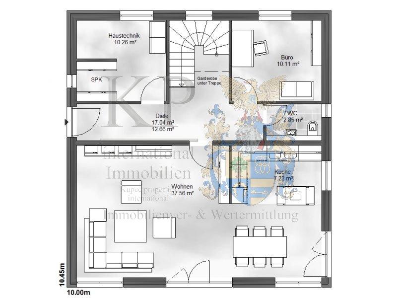 Traufhöhe Stadtvilla massivhäuser einfamilienhaus
